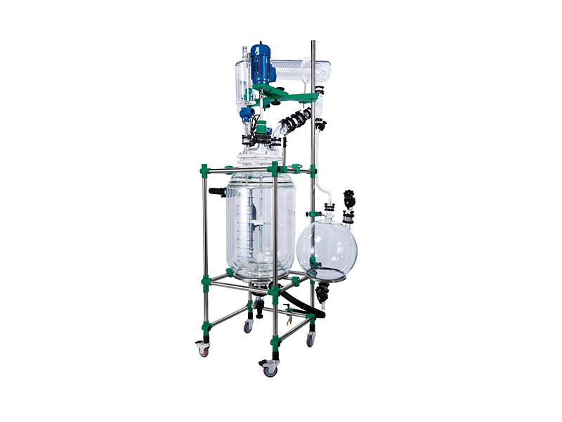 三层玻璃反应装置